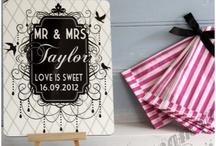 Signage for wedding