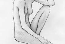Pencil Drawings / Here's a collection of life-drawings created with pencil on paper. / by Jeffrey Wiener