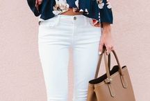 looks con pantalon blanco