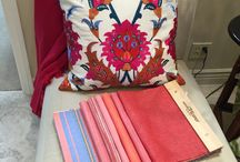 Fresh Decor Colors for Spring and Summer / Lighten and brighten, give a lift to that old couch or chair, or, even better, see about a whole new look!  We at Kathryne Designs are here to make your inspirations a reality!