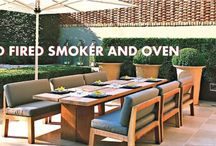 Outdoor cooking bbqs and pizza ovens / Alfresco dining - our new outdoor entertaining range