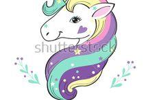 Dibujos de unicornio