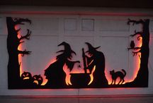 Halloween Horrors / A collection of garage door ideas perfect for the Halloween season!
