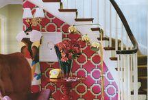Moroccan, trellis & hollywood regency wallpaper