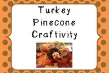 Thanksgiving Crafts / by Katherine Ann