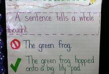 Kindergarten Literacy - Sentences