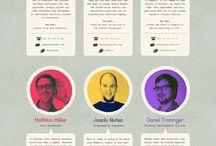 website design team pages