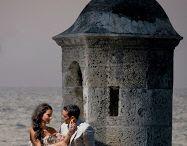 Fotos boda en Cartagena ciudad amurallada