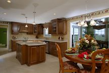 The Williamsburg Interior / Learn more about our Williamsburg floorplan here: http://waynehomes.com/plan/williamsburg