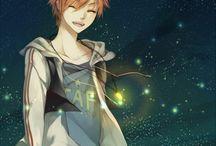 Anime boy characters