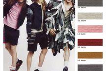 Sample SS 2015 Color Palettes