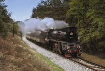 Kolej parowa / zdjęcia parowozów, kolei parowej, taboru