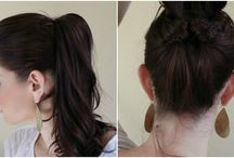 Hair & Makeup / How to's for hair and makeup!