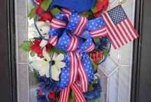 Patriotic Wreaths 2017
