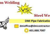 Welding Services / DMI offers welding services as per relevant code using certified welders.