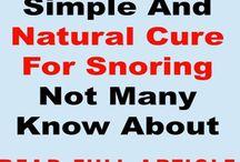 Stop snoring tips