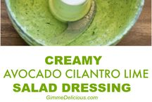Dressing for salads