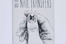Nail transferts