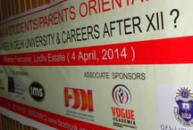 Career Seminar / In association with the Center for Career Development, Vogue Academia along with several other colleges organized an enlightening event for the ambitious students and their parents.  Organiser: Center for Career Development Venue: Alliance Françoise, Lodhi Road, Delhi Date: 4-April'14