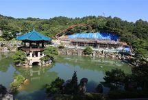 摂理自然聖殿・池、薬水、滝、水(月明洞・WOLMYEONGDONG)
