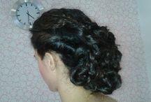recogidos / peinados de peluqueria
