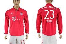 Billige Arturo Vidal trøje / Køb Arturo Vidal trøje 2016/17,Billige Arturo Vidal fodboldtrøjer,Arturo Vidal hjemmebanetrøje/udebanetrøje/3. trøje udsalg med navn.