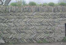 Walls / Creative walls from a variety of materials