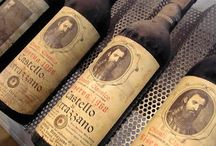 Old (expensive) wine / Oude (dure) wijn / Sometimes not old but just expensive