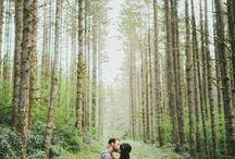 Casamento na floresta/montanha