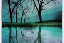 "Surreality 01 / .. ""nothing but a dream,"" she said.  / by Xeno Phrenia"