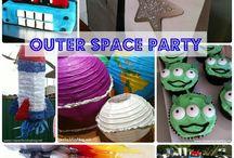Alien/Space/Mars Party