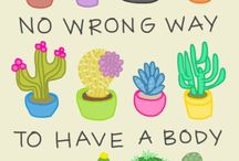 Thoughts and body positivity