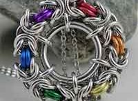 Jewellery Ideas: Chainmaille / Inspiration for making Chainmaille jewellery