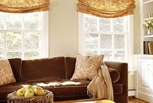 Living Room Window Treatments / The living room is one of the main rooms that is used in most homes. Here you will find inspiration on how to decorate your living room windows. #windowtreatments #windowdecor