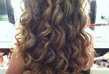 Hairstyles: Curls and Waves