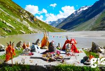 Pin Parvati Pass Trek / The Pin Parvati Pass is one of the most enthralling and challenging trekking trails in Himachal Pradesh, India It was first crossed in August 1884 by Sir Louis Dane in search of an alternate route to the Spiti valley.  Pin Parvati, at 17450 feet.