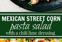 Salade pâte mexicaine
