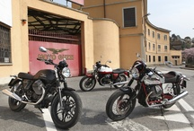 Moto Guzzi V7 Range / V7 CHANGES EVERYTHING TO REMAIN FAITHFUL TO ITS LEGEND. New engine, revamped design, brand new equipment: the legend of the v7 reaches its highest expression yet.