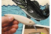 Wooden lures