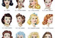 look et mode années 40/50