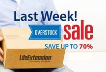 Life Extension Sales / Current sales and promotions