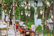 the beautiful garden wedding / www.nataliesoferweddingsandevents.com