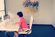 Our joyful Office! / We are located just off the Katy Trail: 3110 Webb Ave. Ste 200 Dallas, TX 75205