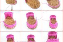 Zandalias a crochet