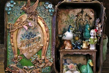 Window shopping / Altered tin / by Sherry Petrohovich