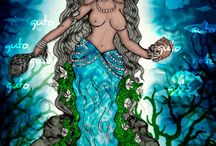 black mermaids / by cookie washington