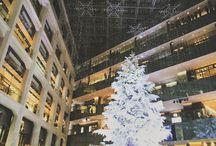 kitteのツリーを別角度から。 素晴らしい。 so beautiful #christmastree #tokyo #kitte #marunouchi #クリスマスツリー #丸の内写真