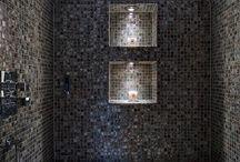 Mosaic steam rooms / Mosaics