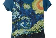 art on t-shirt