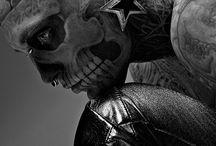 Rick Genest / Modello canadese, detto anche ZombieBoy